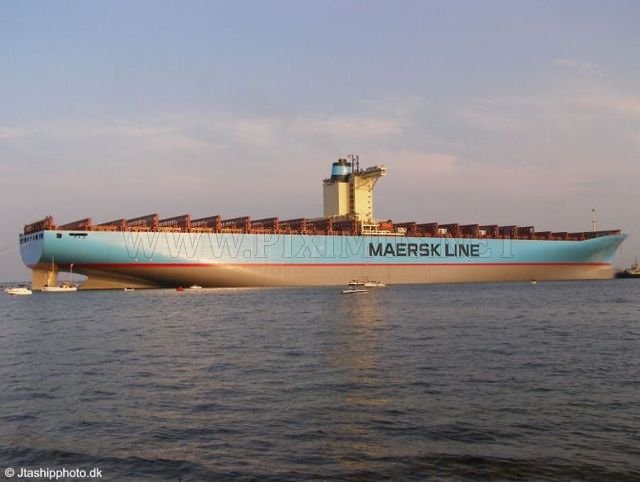 The Largest Container Ship In The World