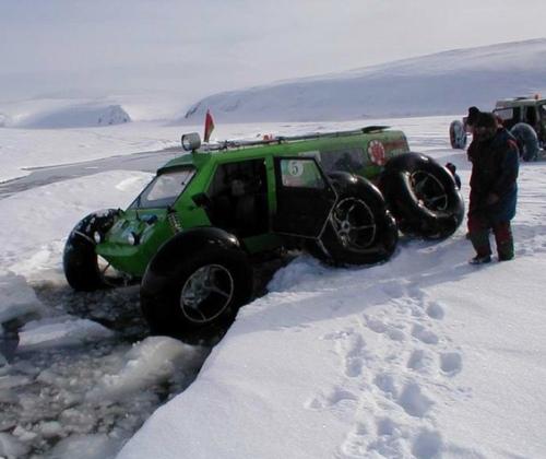 Strange Winter Snow Vehicles
