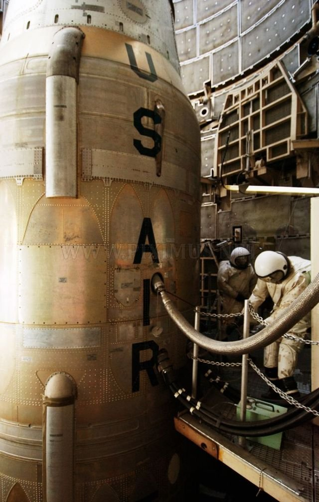 A nuclear silo in the United States