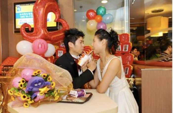 Weddings at McDonald's