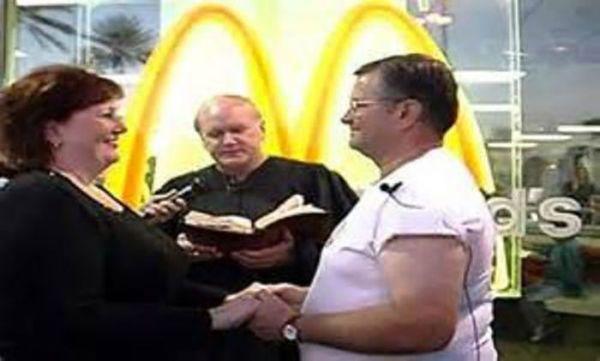 Weddings at McDonald's