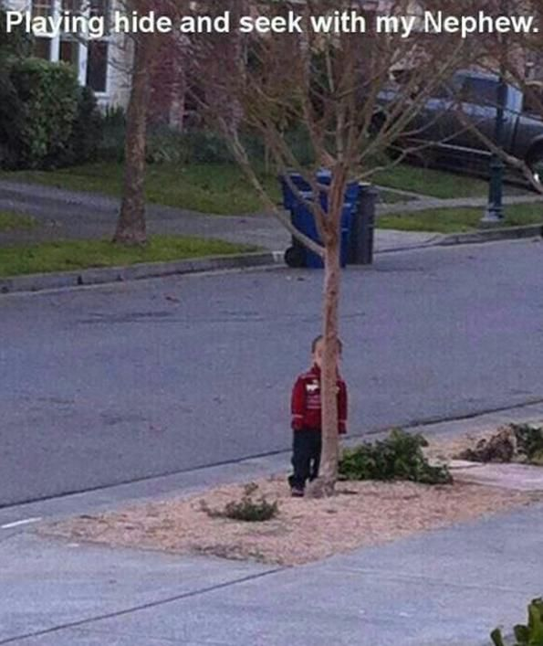Kids Who Are Bad at Hide and Seek