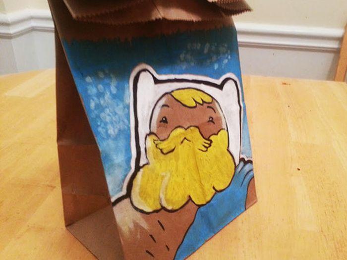 Lunch Bag Art, part 2