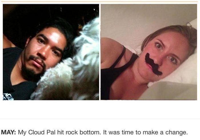 Reenacting Selfies of the iPhone Thief