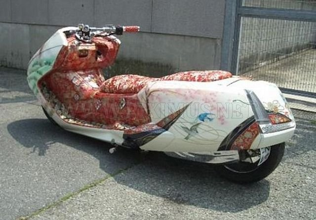 Japanese scooters