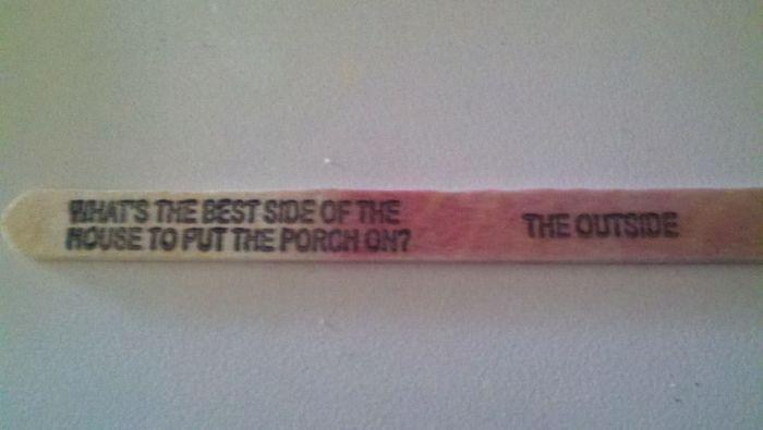Popsicle Stick Jokes