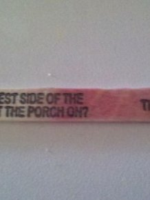 Popsicle Stick Jokes