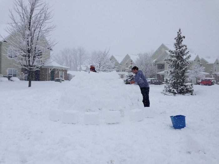 Backyard Igloo