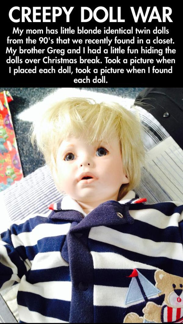 Creepy Doll War