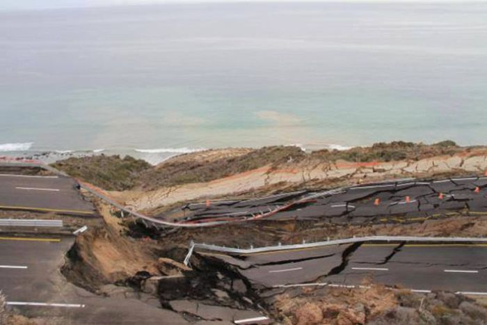 Landslide in Mexico