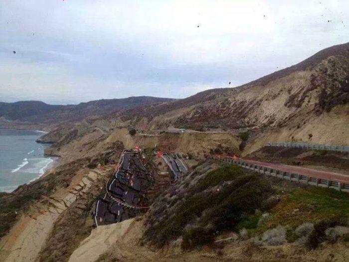 Landslide in Mexico