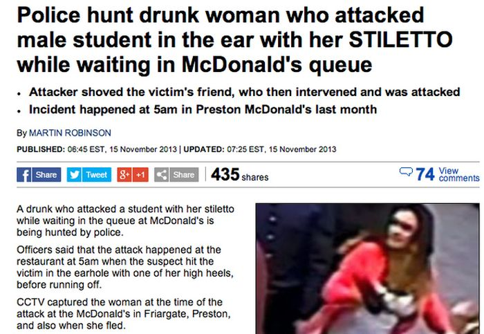 Dumbest Things Drunk Women Have Ever Done
