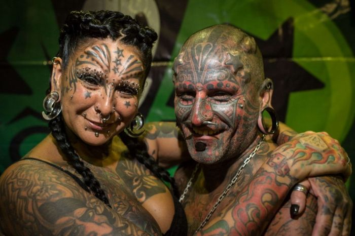 The Most Tattooed and Modified Couple