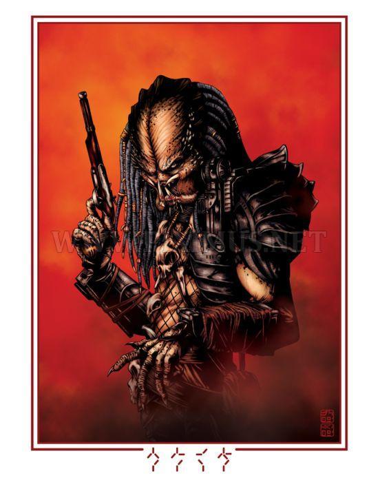 Stunning Predator Fan Art