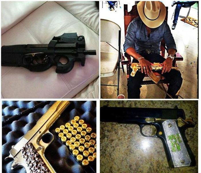 Mexican Drug Lord Posts Photos to Social Networks