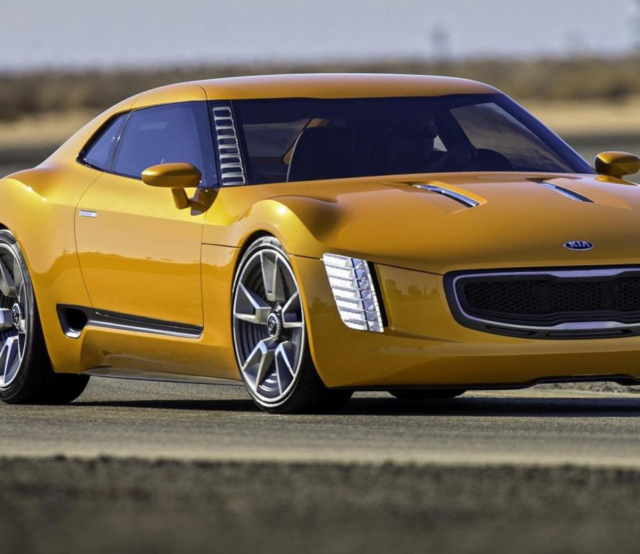 Kia Gt4 Stinger Concept Vehicles