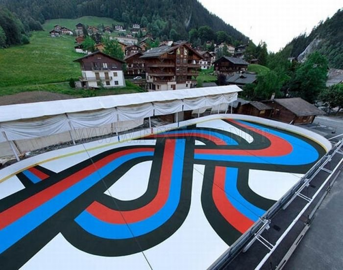 Giant Scale Street Art