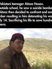 This Kid is a True Hero