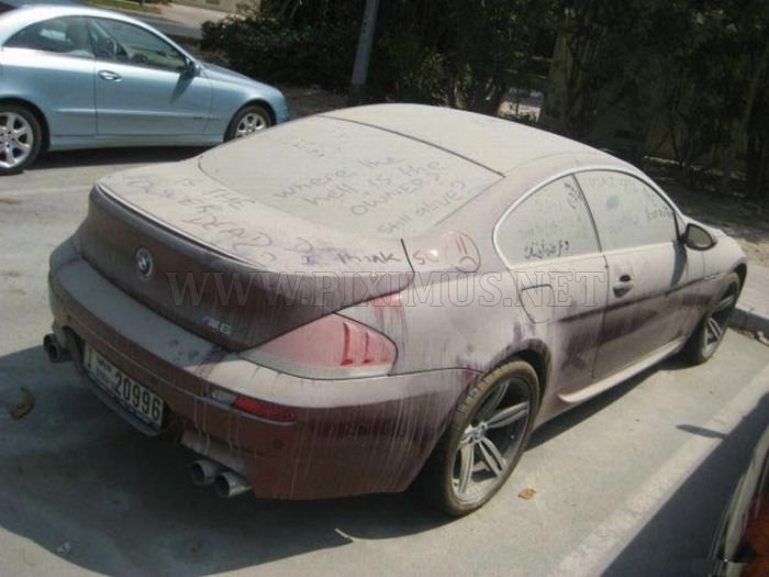 Abandoned BMW M6