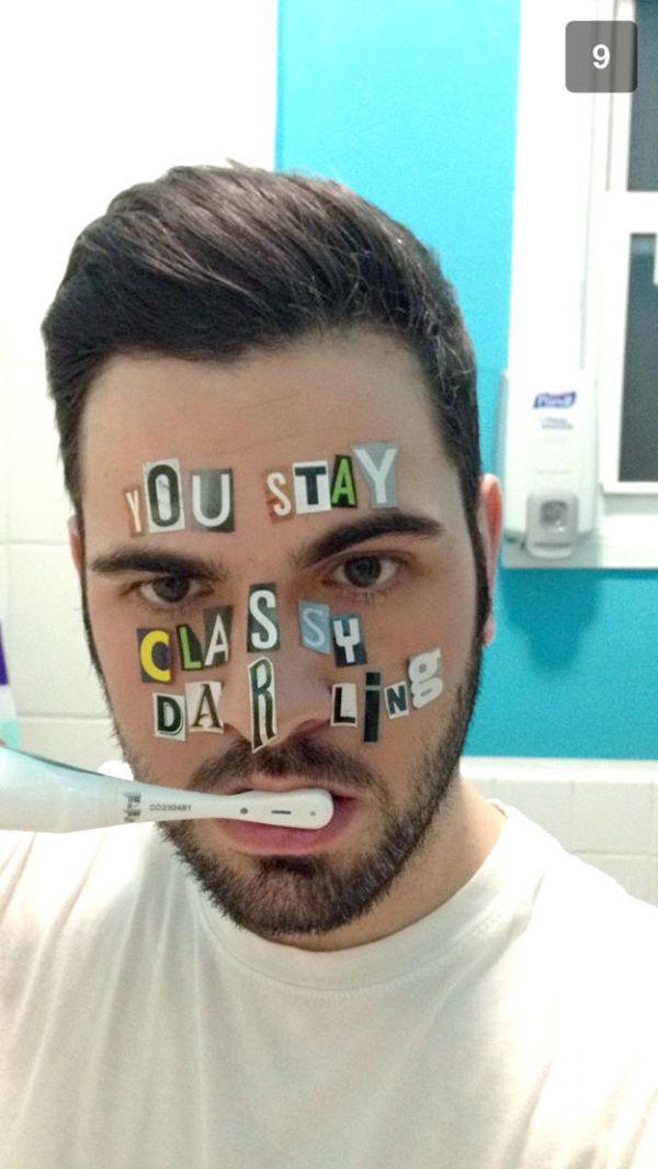 Snapchat Texting Game