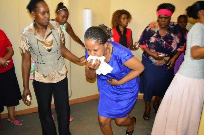 Strange South African Pastor