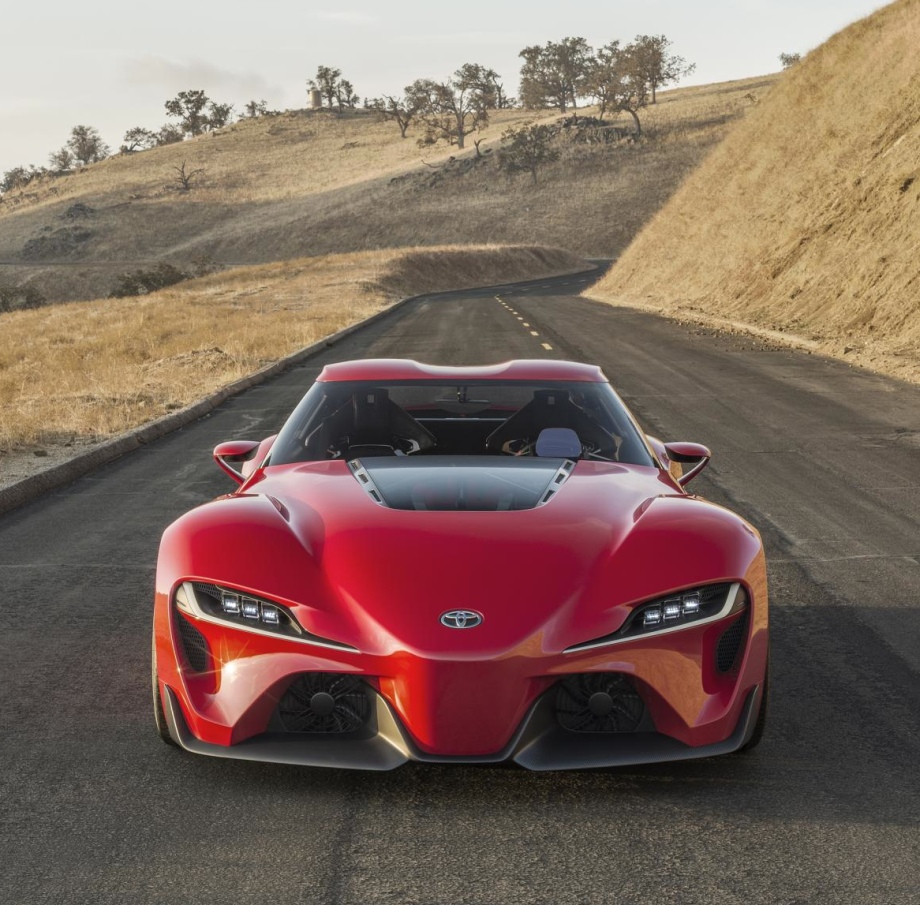 Toyota Ft 1 >> Toyota Ft 1 Concept Vehicles