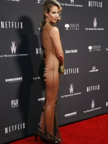 Victoria Hervey's Golden Globes 2014 Dress