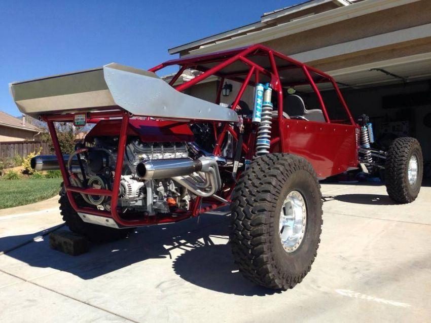 Monster Car Engines