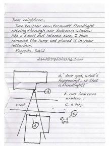Dear Neighbor