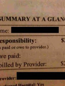 US Medical Bills