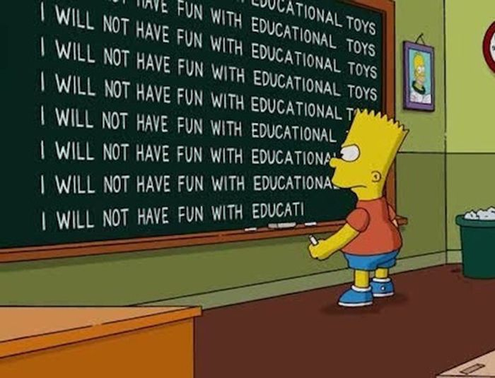 The Funniest Simpsons Chalkboard Gags