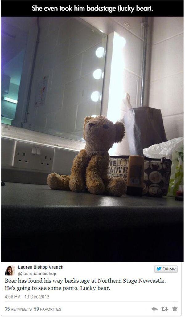 Lost Stuffed Animal