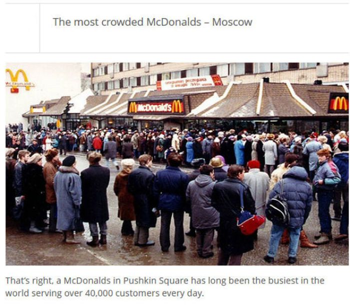 The Most Crowded Places