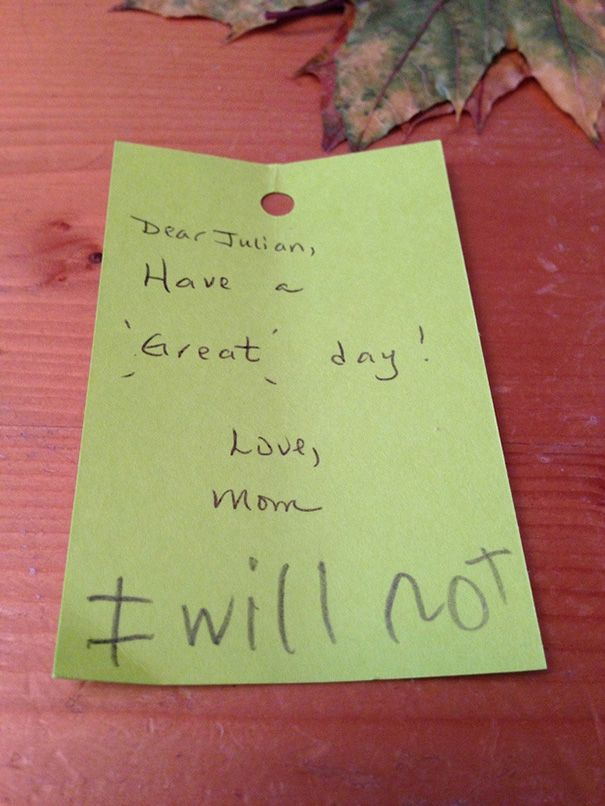 Honest Notes From Kids