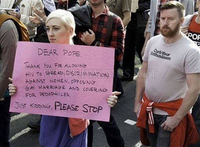 Funny Protest Signs