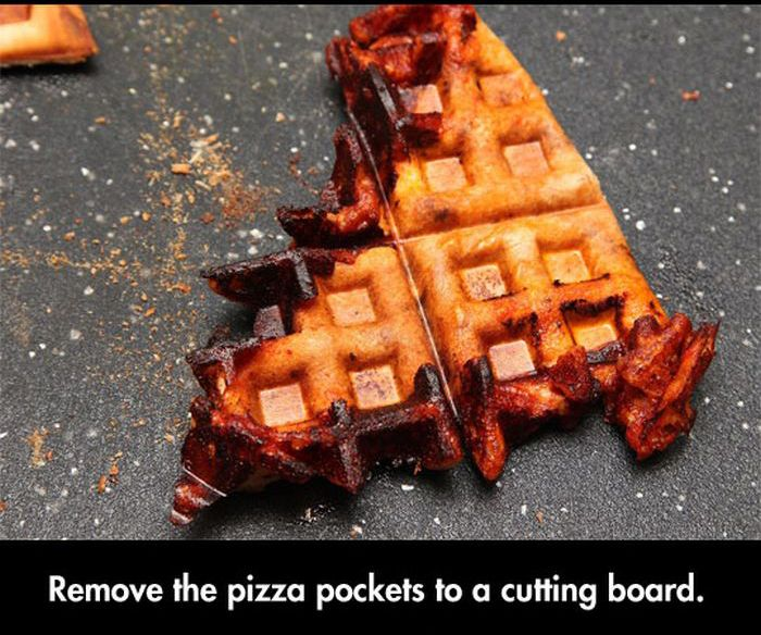 Great Snack Made Out of Leftover Pizza