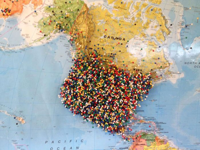 Pin Where You Are From