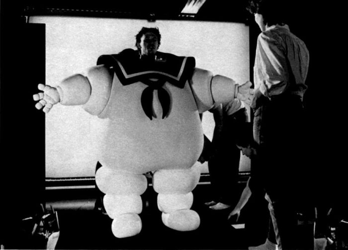 Behind the Scenes of the Ghostbusters