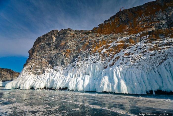 Frozen Lake Baikal