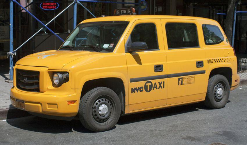 New York taxi cars