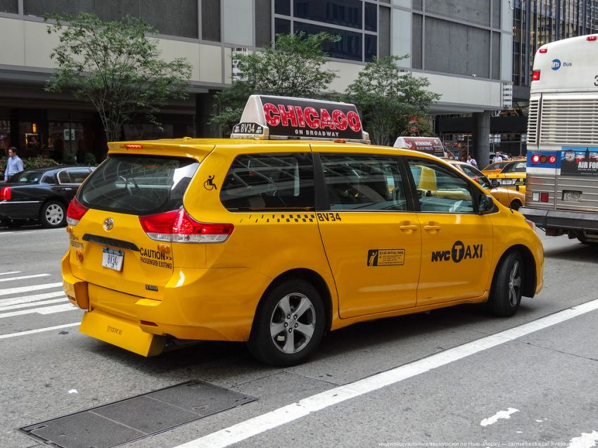 New York Taxi Cars Vehicles