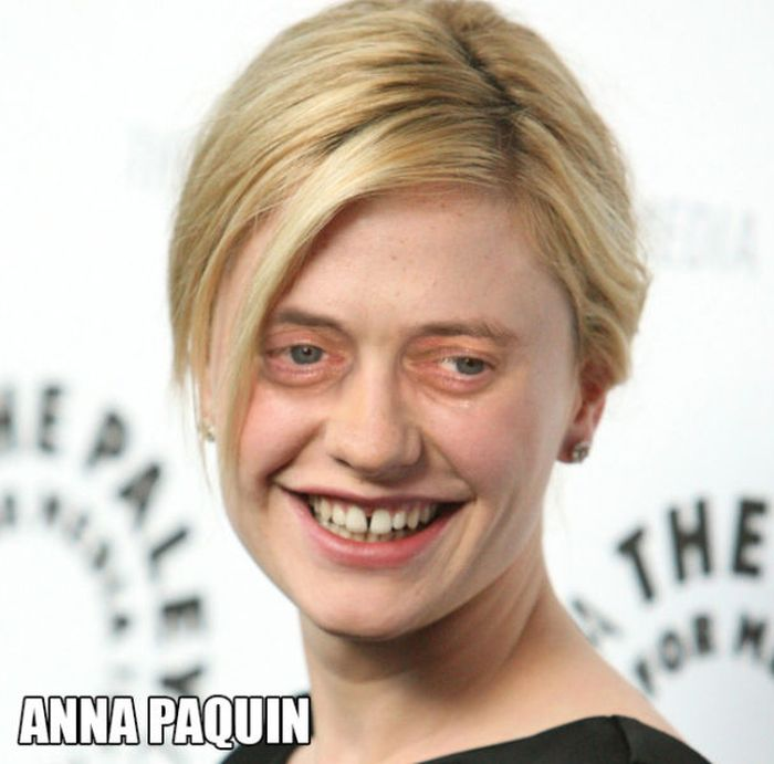 Steve Buscemi's Eyes on Famous Ladies