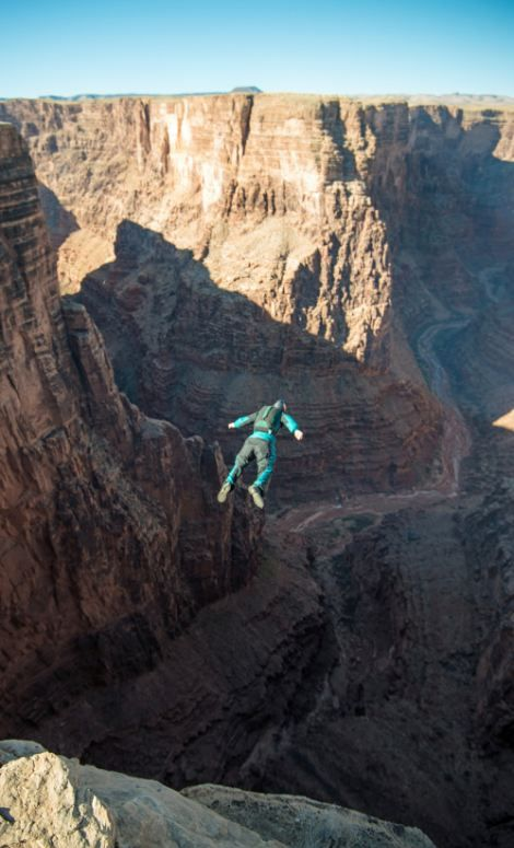 Base Jumping Photos