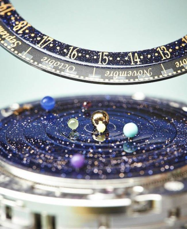 Complication Poetique Midnight Planetarium by Van Cleef & Arpels