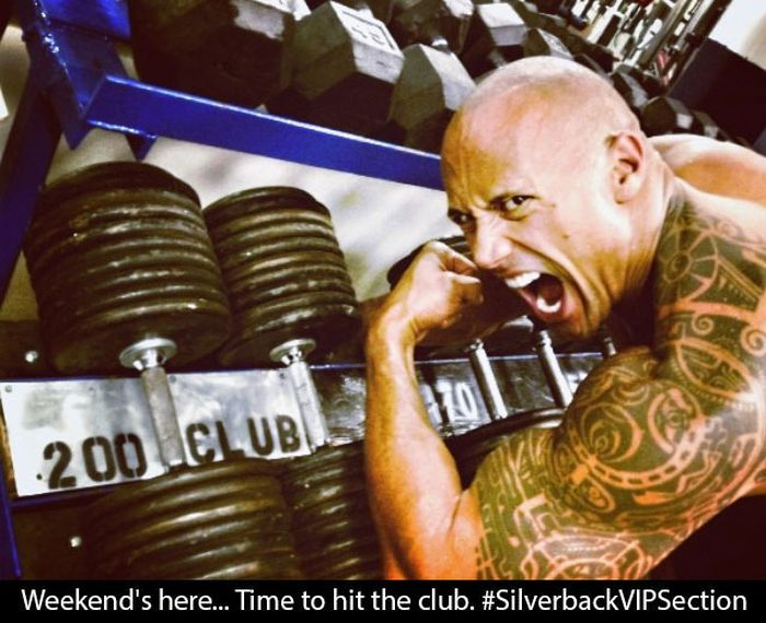 The Rock is Rocking the Instagram