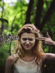 Surreal Portraits by 20-Year-Old Rachel Baran