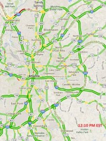 Atlanta Snow Traffic