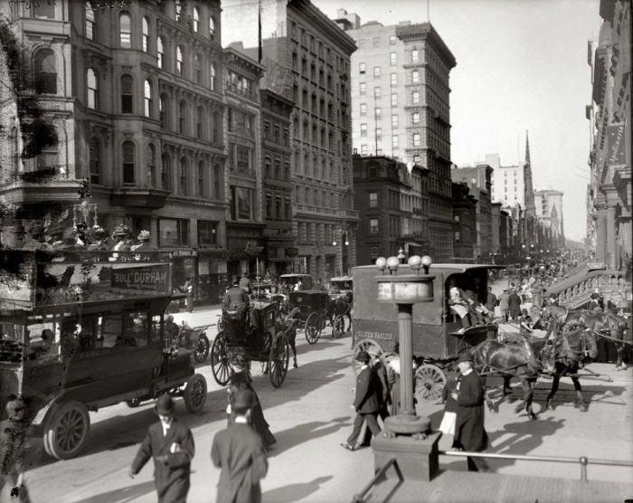 American Cities 100 Years Ago