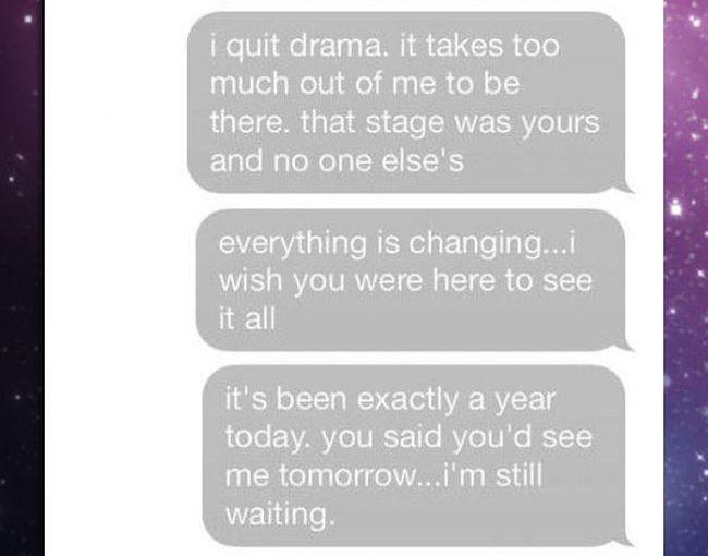 Very Sad Text Story