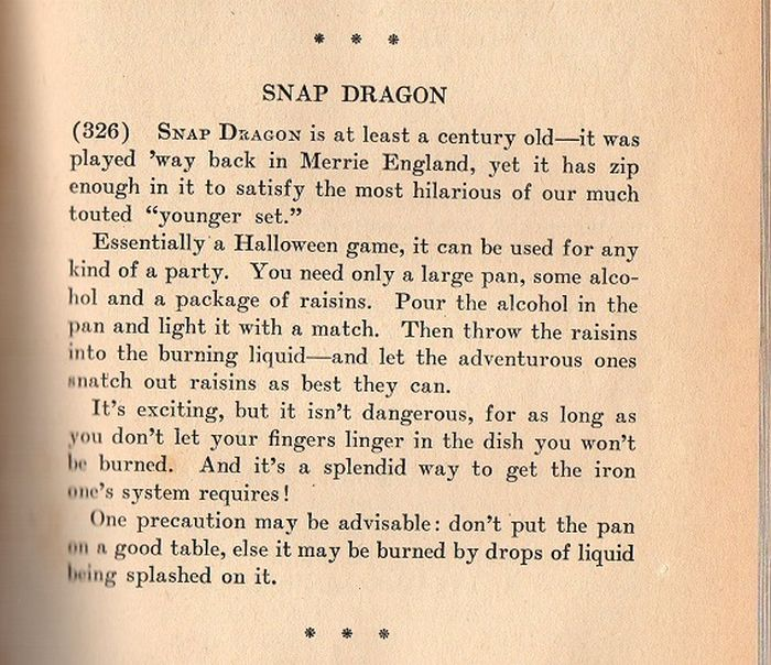 Weird Party Games from the 40s